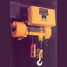 Light weight and compact size hoists.