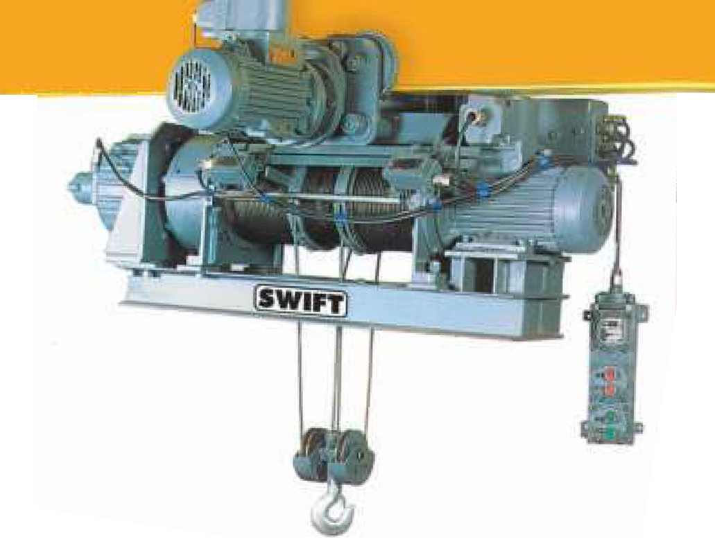 Swift Electric Chain Hoist, Electric Wire Rope Hoist, Electric Wire ...